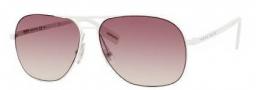 Hugo Boss 0293/S Sunglasses Sunglasses - 0C0L Semi Matte White (42 Brown Mirror Lens)