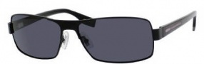 Hugo Boss 0316/S Sunglasses Sunglasses - 010G Matte Black (RA Gray Polarized Lens)