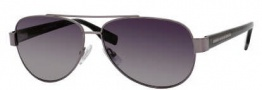 Hugo Boss 0317/S Sunglasses Sunglasses - 0V81 Dark Ruthenium Black (WJ Gray SH Polarized Lens)