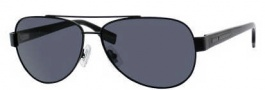 Hugo Boss 0317/S Sunglasses Sunglasses - 010G Matte Black (RA Gray Polarized Lens)