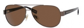 Hugo Boss 0317/S Sunglasses Sunglasses - 0YCH Semi Matte Brown / Havana (VW Brown Polarized Lens)