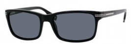 Hugo Boss 0319/S Sunglasses Sunglasses - 0807 Black (RA Gray Polarized Lens)