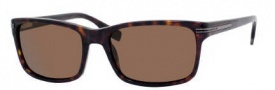 Hugo Boss 0319/S Sunglasses Sunglasses - 0086 Dark Havana (VW Brown Polarized Lens)