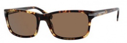 Hugo Boss 0319/S Sunglasses Sunglasses - 0POR Havana Vintage (VW Brown Polarized Lens)