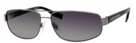 Hugo Boss 0320/S Sunglasses Sunglasses - 0V81 Dark Ruthenium Black (WJ Gray SH Polarized Lens)