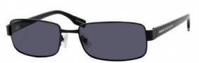 Hugo Boss 0321/S Sunglasses Sunglasses - 065Z Black (RA Gray Polarized Lens)