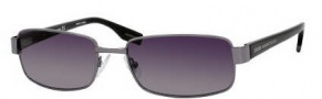Hugo Boss 0334/S Sunglasses Sunglasses - 0D28 Shiny Black (Y1 Gray Lens)