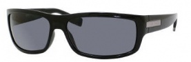 Hugo Boss 0339/S Sunglasses Sunglasses - 0D28 Shiny Black (TD Smoke Polarized Lens)