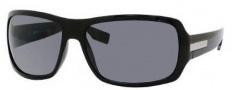 Hugo Boss 0340/S Sunglasses Sunglasses - 0D28 Shiny Black (TD Smoke Polarized Lens)