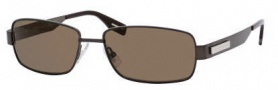 Hugo Boss 0356/S Sunglasses Sunglasses - 0VNQ Semi Matte Brown (SP Bronze Polarized Lens)