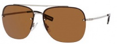 Hugo Boss 0361/S Sunglasses Sunglasses - 0CGS Light Gold Semi Matte (IM Brown Lens)