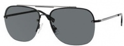 Hugo Boss 0361/S Sunglasses Sunglasses - 0UVJ Semi Matte Black Ruthenium (J4 Gray Lens)