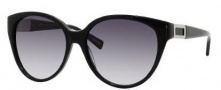 Hugo Boss 0372/S Sunglasses Sunglasses - 0807 Black (JJ Gray Gradient Lens)