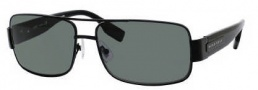 Hugo Boss 0394/P/S Sunglasses Sunglasses - 010G Matte Black (RC Green Polarized Lens)