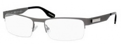 Hugo Boss 0368 Eyeglasses Eyeglasses - 0R80 Semi Matte Dark Ruthenium