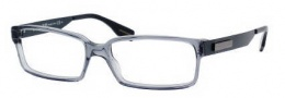 Hugo Boss 0369 Eyeglasses Eyeglasses - 0D0P Transparent Blue Petroleum
