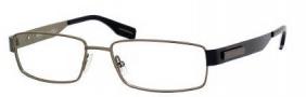Hugo Boss 0374 Eyeglasses Eyeglasses - 01O4 Matte Olive Black