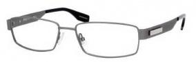 Hugo Boss 0374 Eyeglasses Eyeglasses - 0R80 Semi Matte Dark Ruthenium