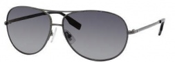 Hugo Boss 0396/P/S Sunglasses Sunglasses - 0KJ1 Dark Ruthenium (WJ Gray SHPolarized Lens)