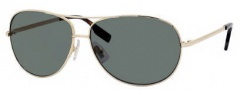 Hugo Boss 0396/P/S Sunglasses Sunglasses - 03YG Light Gold (RC Green Polarized Lens)