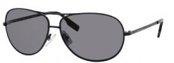 Hugo Boss 0396/P/S Sunglasses Sunglasses - 0003 Matte Black (RA Gray Polarized Lens)