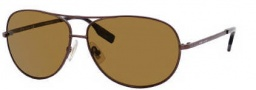 Hugo Boss 0396/P/S Sunglasses Sunglasses - 0IZ9 Semi Matte Brown (VW Brown Polarized Lens)