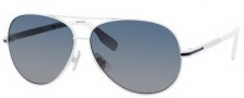 Hugo Boss 0397/P/S Sunglasses Sunglasses - 02C9 Matte White (ND Blue Gradient Lens)