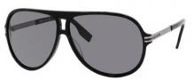 Hugo Boss 0398/P/S Sunglasses Sunglasses - 0ANS Black Dark Ruthenium (RA Gray Polarized Lens)