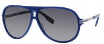 Hugo Boss 0398/P/S Sunglasses Sunglasses - 0WMX Navy Blue Palladium (QM Gray Gradient Lens)