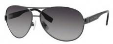 Hugo Boss 0421/P/S Sunglasses Sunglasses - 0V81 Dark Ruthenium (WJ Gray SHPolarized Lens)