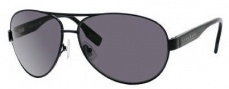 Hugo Boss 0421/P/S Sunglasses Sunglasses - 065Z Shiny Black (RA Gray Polarized Lens)