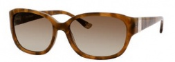 Juicy Couture Juicy 501/S Sunglasses Sunglasses - 0JFB Texture Brown (Y6 Brown Gradient Lens)
