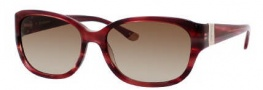 Juicy Couture Juicy 501/S Sunglasses Sunglasses - 0JFE Texture Burgundy (Y6 Brown Gradient Lens)