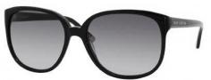 Juicy Couture Juicy 502/S Sunglasses Sunglasses - 0807 Black (Y7 Gray Gradient Lens)