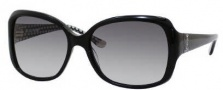 Juicy Couture Juicy 503/S Sunglasses Sunglasses - 0807 Black (Y7 Gray Gradient Lens)