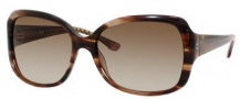 Juicy Couture Juicy 503/S Sunglasses Sunglasses - 0FG4 Light Tortoise (Y6 Brown Gradient Lens)