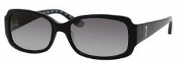 Juicy Couture Juicy 507/S Sunglasses Sunglasses - 0807 Black (Y7 Gray Gradient Lens)