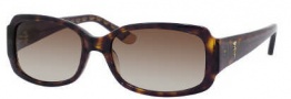 Juicy Couture Juicy 507/S Sunglasses Sunglasses - 0086 Dark Havana (Y6 Brown Gradient Lens)