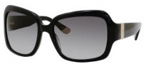 Juicy Couture Juicy 510/S Sunglasses Sunglasses - 0807 Black (Y7 Gray Gradient Lens)