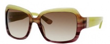 Juicy Couture Juicy 510/S Sunglasses Sunglasses - 0FS1 Olive Violet Fade (Y6 Brown Gradient Lens)