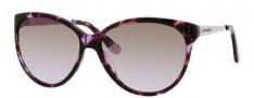 Juicy Couture Juicy 511/S Sunglasses Sunglasses - 0JCF Violet Tortoise (C0 Brown Lavender Lens)