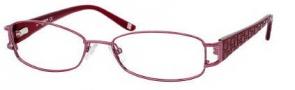 Liz Claiborne 373 Eyeglasses Eyeglasses - 0JCS Sangria (red)