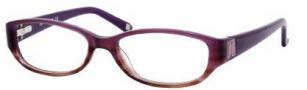 Liz Claiborne 375 Eyeglasses Eyeglasses - 0R3y Violet Brown