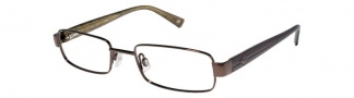 JOE Eyeglasses JOE4001 Eyeglasses - Coffee