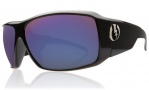 Electric KB1 Sunglasses Sunglasses - Gloss Black / Visual Evolution Blue Polarized Level II