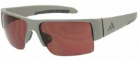 Adidas A376 Retego Sunglasses Sunglasses - 6055 Matt Silver / Grey
