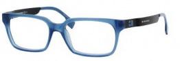 Boss Orange 0002 Eyeglasses Eyeglasses - 0SG0 Blue Matte Black