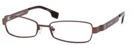 Boss Orange 0005 Eyeglasses Eyeglasses - 0ULO Matte Brown