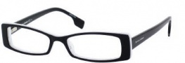 Boss Orange 0028 Eyeglasses Eyeglasses - 0S4C Black White Black