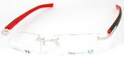 Tag Heuer Trends Rubber 8109 Eyeglasses Eyeglasses - 002 Black / Red